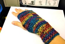 fingerless gloves guanti Wrist Warmer