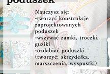 warsztaty szycia - Poznań / 1-dniowe warsztaty z nauki szycia na maszynie.
