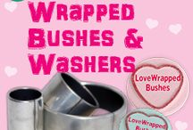 Wrapped Bushes and Washers - #LoveWrappedBushes / Our HMEC Wrapped Bushes and Washers Range!! http://www.godiva-bearings.com/index.html Here's our infographic - http://www.godiva-bearings.com/2014-pdf/Wrapped%20Bushes%20A4%200702_2_2.pdf #LoveWrappedBushes #LoveBearings
