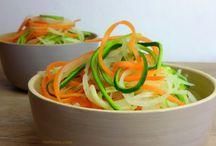 Gemüse Nudeln
