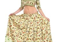 Latest Collection of #crop #lehenga only at styloshopping.com