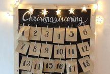 N O E L ☃️ / Noël arrive et tu as besoin d'inspirations pour faire un calendrier de l'avent ? Pour faire des cadeaux ? Tu trouveras ici de l'inspiration!