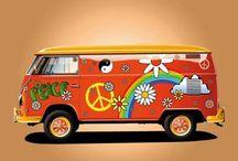 Gypsy Wagons, Hippie Vans & Combies