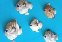 Artesanato conchas