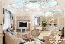 Интерьер квартиры в стиле Ар-Деко в ЖК Доминион / Интересный интерьер разработан Анжеликой Прудниковой. Квартира в ЖК «Доминион» выполнена в стиле Ар-Деко. В дизайне гостиной и других помещений нет перегруженности в декоре, и каждый гость почувствует лёгкость. Для оформления комнат использовался белый и бежевый цвет. В гостиной и в коридоре много красивых осветительных приборов.