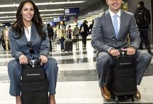 Suitcase you can ride