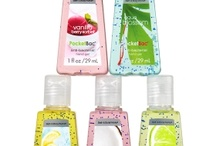 BBW hand sanitizer! <3 / by Suzanne Blackwell