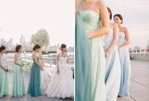Mint Weddings / Dresses, decor & ideas for mint inspired weddings.