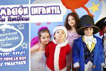 Animación infantil / Imágenes de nuestra animación infantil. Todo lo relacionado con las animaciones infantiles de comuniones, cumpleaños, bodas, etc.