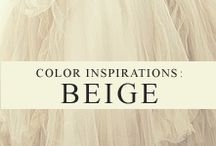 Color Inspiration: Beige
