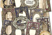 Vintage Images - Frames & Labels