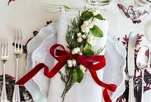 Holiday Tablescape Inspiration / The holidays are all about gathering with family and friends. Make a statement this holiday season with an original tablescape. Pin your favorites for inspiration!