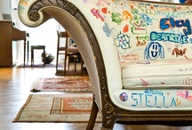 colourfull fantasy magical decor and furniture  / how I want my living spaces to look