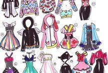 Moda çizimi moda
