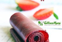 Home made fruit roll up
