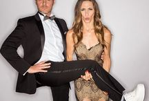 Steven Cox Instagram Photos We take ourselves VERY seriously (with @Mia_Tidwell). PS: Mia is RIPPED in this pic!  #sandiego #tuxedo #nightlife #platformshoes