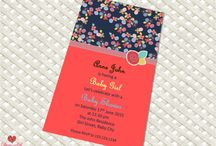 Baby Shower and Kids Invitation