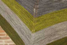 Shawls, scarves - knit
