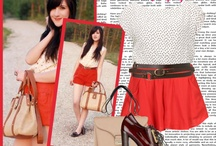 Wardrobe Wish / Mood board of my style + fash inspirations to try =)