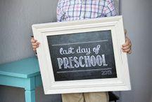 First Day of Preschool / by Rebekah Hurwitz