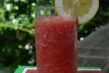 Frozen watermelon lemonade / Excited to try this