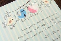 Convites de Casamento / Inspirações