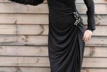 Trendy hijab and abaya styles / and some accessories