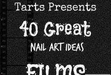 Crumpet Nail Tarts Presents - Films / Crumpet Nail Tarts Presents 40 Great Nail Art Ideas #40gnai