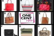 FABULOUS TUESDAY July 8, 2014 / Designer Handbags for Auction Tonight at OneCentChic at 10 PM ET