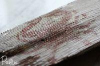 Transfer em madeira rustica