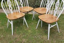 Ercol dining chairs paint ideas