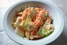 saláták,diétás ételek