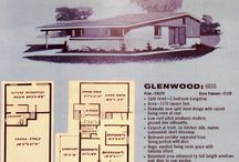Mid-Century Modern Houses / Uber cool modernist houses of 1950-1962. A half century later, the world has a perspective to appreciate these houses as a product of their time and celebrate these houses of the Atomic Age.