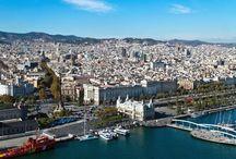 Barcelona / Drugie co do wielkości miasto w Hiszpanii, Stolica Katalonii.