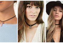 Trend Spotting: CHOKERS! / This fashionable throwback is everywhere these days. What goes around comes around with 90's fashion, and this chic accessory is a velvet ring that accentuates the neck and radiates youthful style.