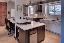 Contemporary Kitchens / Modern and beautiful kitchen designs by Dream Kitchens.
