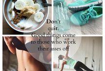 Fitness / Workout motivation