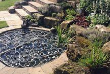 metal pond cover