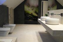 łazienka pod skosem
