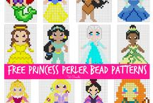 Hama bead patterns / All the cutest patterns for Hama bead or Perler Bead creations - including friendship bands, jewellery and more.