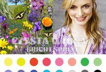 spring - color palette ,outfit ideas ideas
