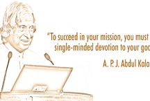 A.P.J. Abdul Kalam Azad / To Succeed in your mission, you must have single minded devotion to your goal.