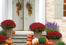 Jeseň, tekvice, dekorácie