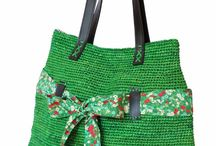 tašky / tašky šité. pletené i háčkované