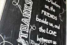 Chalkboard / by Lisa Stewart