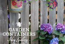 Cool Creative Garden Container Ideas