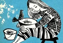ilustration books b&w