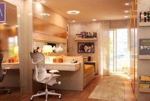 AM Quartos | Rooms designed by Angela Meza Arquitetura / Rooms, Interior Design, Suite, Quartos, Design de Interiores AM Arquitetura & Interiores