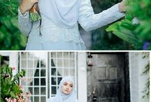 Hijab wedding dresses