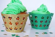 st. patrick's day party ideas & inspiration / st. patrick's day, st. pats, irish, lucky, party, green, gold coins